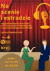 Plakat audycji Na Scenie i Estradzie